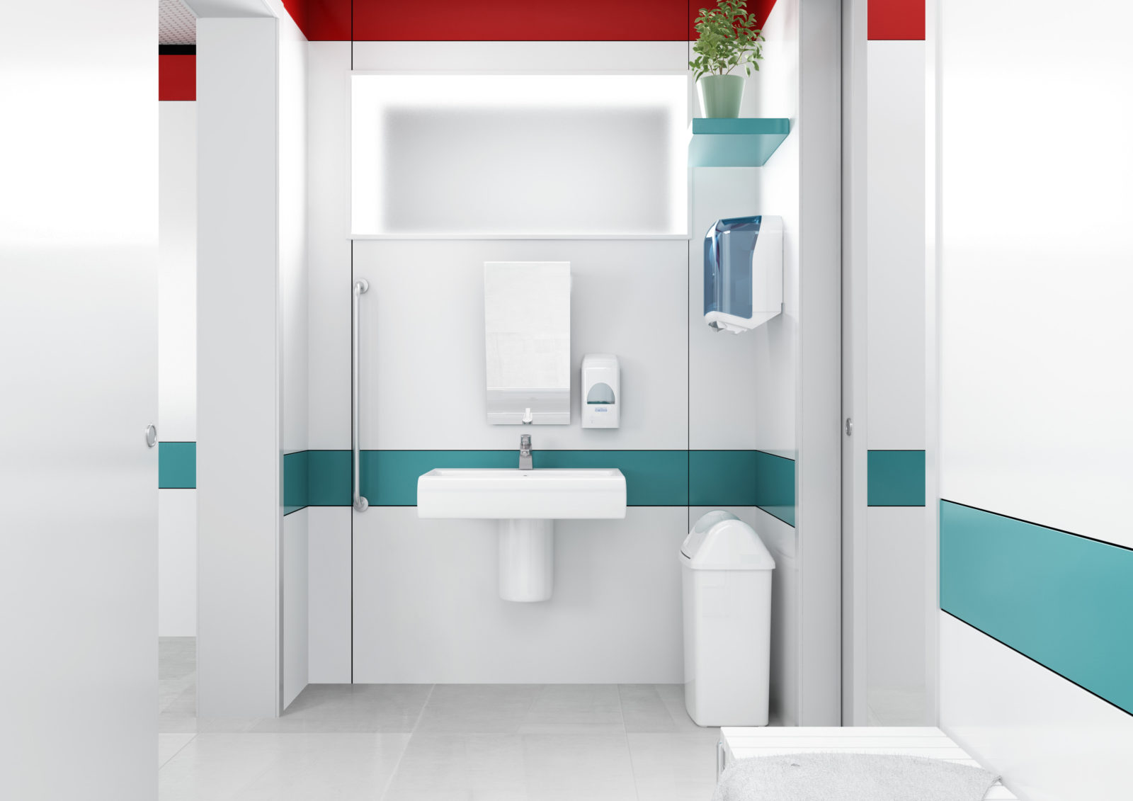 dispenser asciugamani ospedale