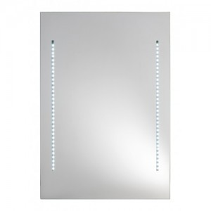 specchio con luci led