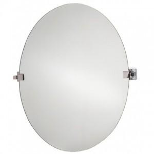 specchio ovale basculante