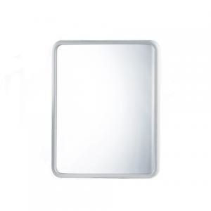 specchiera rettangolare bianca